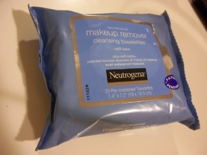 nutrogena make up remover cleansing towelettes