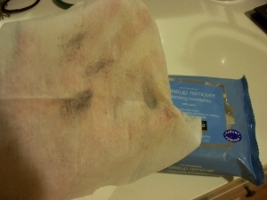 neutrogena make up remover cleansing towelettes review